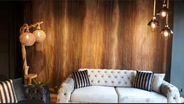 Wood Shell Marron