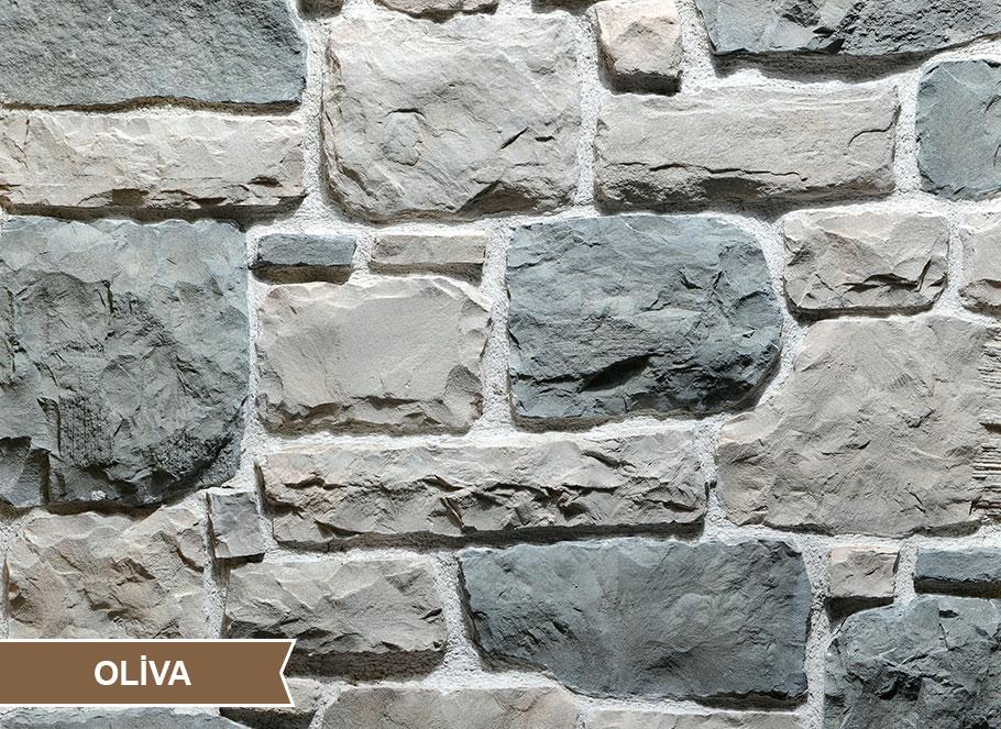 Ota Benga Oliva Kültür Taşı Duvar Kaplama