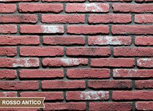 Colombiano Rosso Antico Kültür Tuğlası Duvar Kaplama